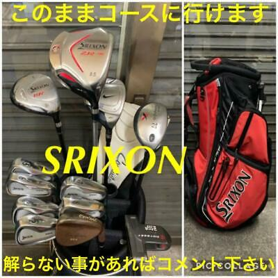 AU1070.39 • Buy SRIXON Beginner Set Of Golf Clubs  For Men Collection From Japan Shippingfree