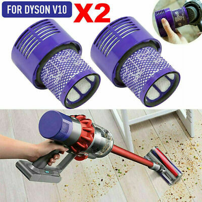 AU21.99 • Buy 12Pcs Filter For DYSON V10 Cyclone Animal Absolute Total Clean Replacement