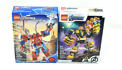 £31.08 • Buy Lot Of 2 Lego Tech Sets, Spiderman  76146 & Avengers 76141-Sealed Boxes