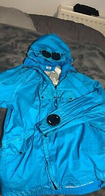 100% Genuine  CP Company Arm Goggle Hooded Jacket Size 52 (XL) • 180£