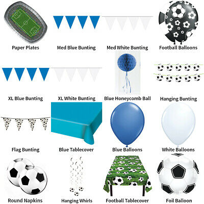 £3.49 • Buy Everton Fc Football Party Decorations - Partyware Complete Selection