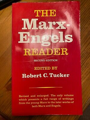 The Marx-Engels Reader By Friedrich Engels, Karl Marx (Paperback, 1978) • 0.99£