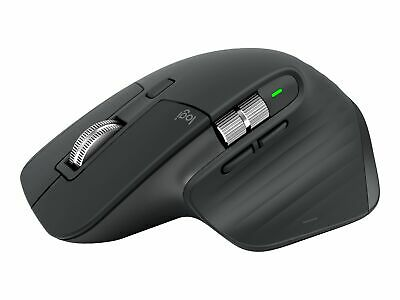 AU192.40 • Buy Logitech MX Master 3 Mouse Laser 7 Buttons Wireless Bluetooth 2.4 GHz 910-005694