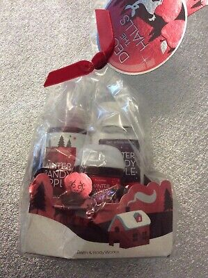 £20 • Buy Bath And Body Works Winter Candy Apple Gift Set New