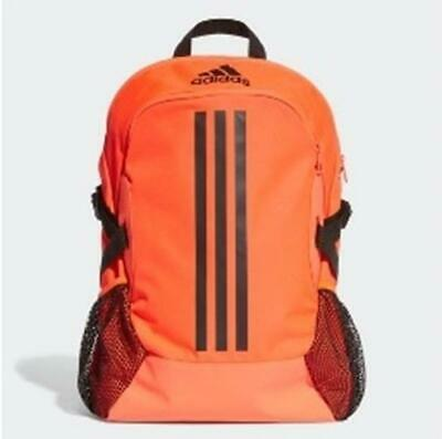 AU44.95 • Buy Adidas Outdoor Backpack Travel School Bag -  Black / Orange / Pink