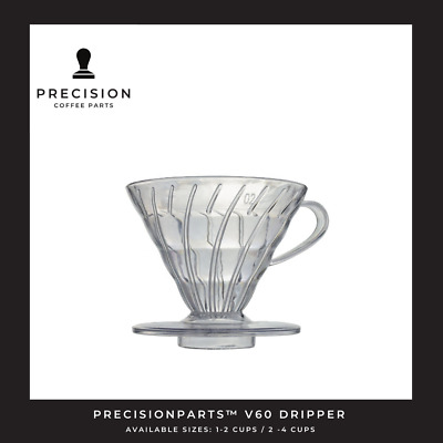 AU16.95 • Buy NEW V60 02 DRIPPER Plastic Coffee Cup Pour Over Cone Filter Brewer