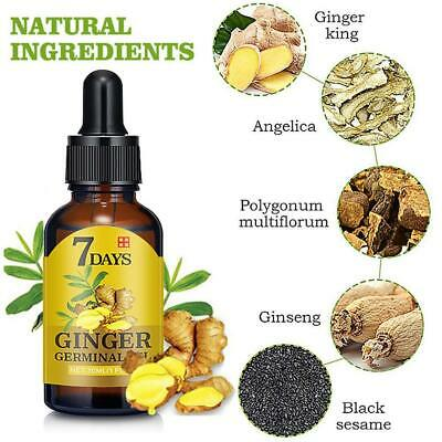 AU7.09 • Buy Regrow 7 Day Ginger Germinal Hair Growth Serum Hairdressing Regrowth Loss HOT