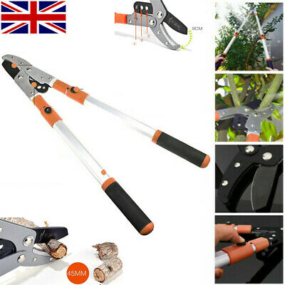 Heavy Duty Razor Sharp Anvil Lopper Extendable Telescopic Garden Branch Cutter • 22.99£