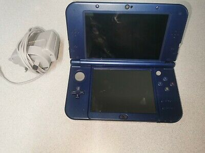 AU199.99 • Buy 'New' Nintendo 3DS XL Metallic Blue With Wall Charger | Free Shipping