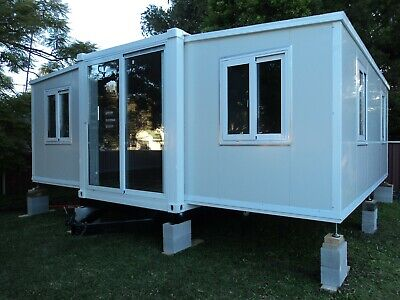 AU22999 • Buy New 2021 2 Bedroom,granny Flat,bathroom,cabin,not A Kit,6mx6.3m Ph;0419424508