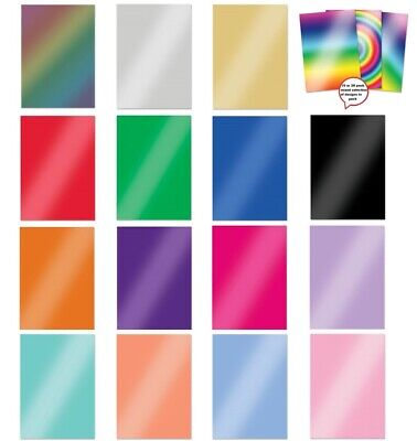 £5.99 • Buy Hunkydory Mirri Card Essentials A4 220gsm Various Colours 10 Or 20 Sheet Packs
