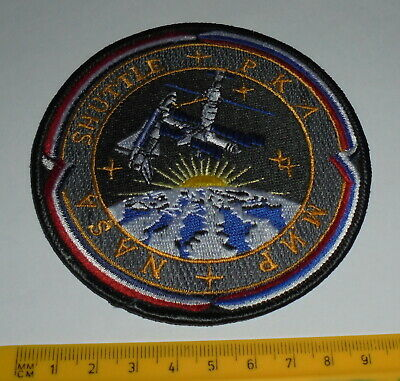 US MIR / Space Shuttle Program Embroidered Patch Ref#170 • 4.99£