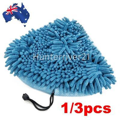 AU10.95 • Buy 3X/1X Replaced H2O Steam Mop Cleaner Pads For Bissell Steamboy Chenille Washable