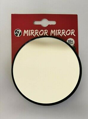 £3.49 • Buy W7 Make Up Mirror, Camping Travel Portable, With Suction Cups, Magnify X10