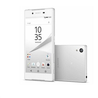 $ CDN133.97 • Buy Sony Xperia Z5 E6603 32GB White (Unlocked)Smartphone 4G LTE  23MP Single Card