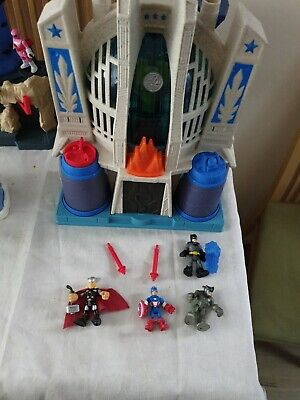 £10 • Buy Fisher Price Imaginext DC Super Friends - Hall Of Justice Play-set