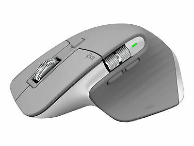 AU235.50 • Buy Logitech MX Master 3 Mouse Laser 7 Buttons Wireless Bluetooth 2.4 GHz 910-005695