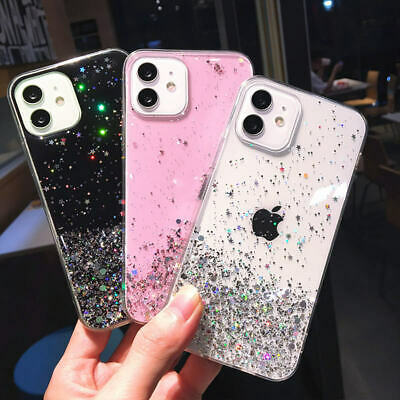 AU9.39 • Buy For IPhone 11 12 Pro XS Max XR 8 7Plus Bling Glitter Shockproof Phone Case Cover
