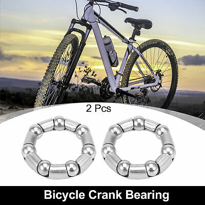 AU8.11 • Buy 2pcs 37.6mm X 7 Ball Bearings Cages Crank Wheel Bearing Retainer For Bicycle