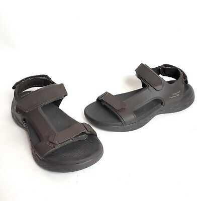 Skechers Sandals On The Go 600-Venture Brown Mens Size 8 • 4.29£