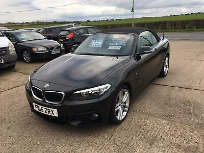 2015 BMW 220d Convertible No Swap Px Salvage Damaged Repaird  • 8,995£