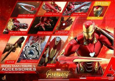 $ CDN408.70 • Buy Hot Toys ACS004 1/6 Iron Man Mark L Nano Armour Avengers Infinity War Figure Set