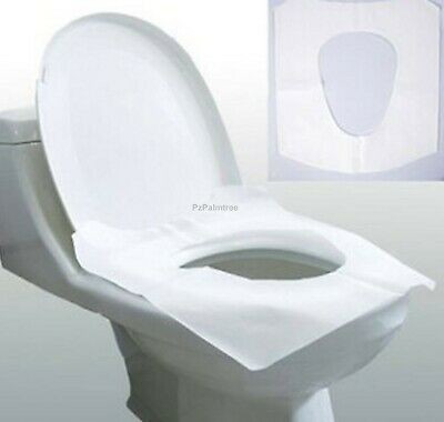 £3.99 • Buy Disposable Toilet Seat Covers Flushable Camping Festival Travel 15 30 45 60