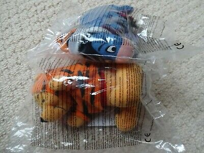 Mcdonald's Happy Meal Winnie The Pooh And Eeyore Soft Toys • 1.99£