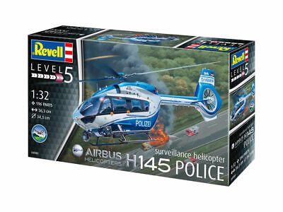Revell 04980 - 1/32 Airbus H145 Police/Polzei - New • 14.76£