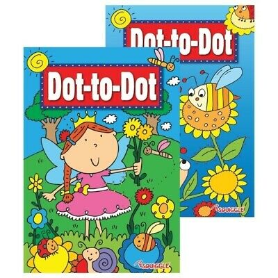 Children's Dot To Dot Puzzle Book - 2 Designs • 2.99£