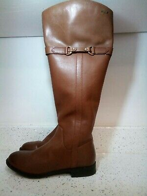 Clarks Tan Knee High Boots Size 5 • 45£