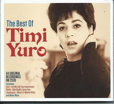 Timi Yuro - The Best Of / Greatest Hits 2CD NEW/SEALED • 5.89£