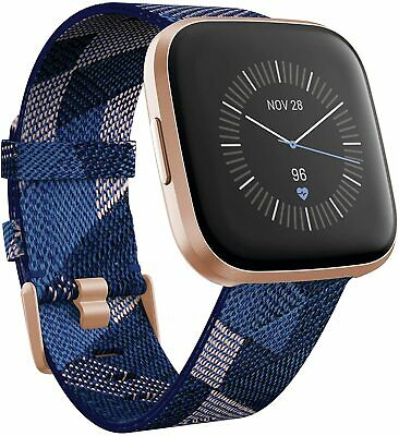 $ CDN178.66 • Buy Fitbit Versa 2 Special Edition Smart Watch Heart Rate Monitor Alexa FB507RGNV