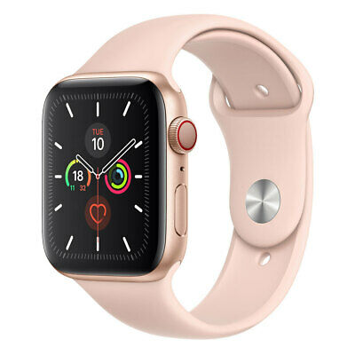 AU449.99 • Buy [Brown Box - As New] Apple Watch 40mm Series 5 (GPS + Cellular) - Gold Aluminum