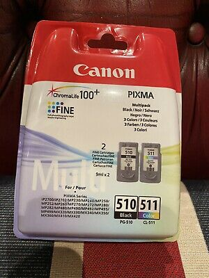 Canon 2970B010 PG510 & CL511 Ink Pack For PIXMA MX320 - NEW IN SEALED PACKET • 26.50£