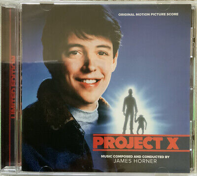 Project X.  Ltd Edition Cd Soundtrack. James Horner. New. La La Land Records • 14.99£