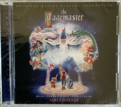 The Pagemaster. James Horner. Ltd Edition Cd Soundtrack. La La Land Records. New • 13.99£