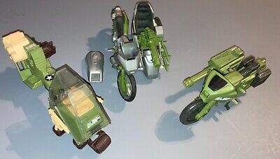 $ CDN38.28 • Buy 1980s Hasbro GI Joe Motorcycle Lot-RAM, Silver Mirage & LCV Recon Sled