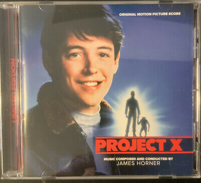 Project X , James Horner Expanded Cd Soundtrack . La La Land Records. Ltd 1500 • 15.99£
