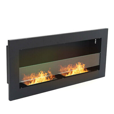 £139.95 • Buy Bio Ethanol Fire BioFire Fireplace 2 Burner Heater Wall Mounted Or Inset Install
