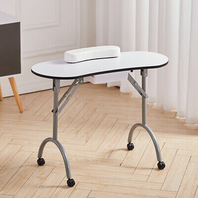 £64.95 • Buy Portable Salon Nail Art Manicure Table Folding Work Desk Station With Carry Bag
