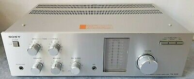 Sony TA-333 Integrated Amplifier With Phono Stage • 125£