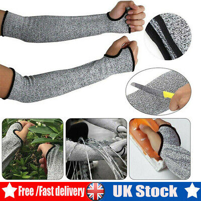 1Pair Safety Protective Arm Sleeve Cut Resistant Garden Protector Armband Gloves • 7.88£