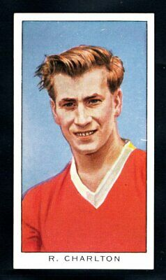 Kellogg (cereals) Football 1963 Bobby Charlton Manchester United Type Card   • 15£