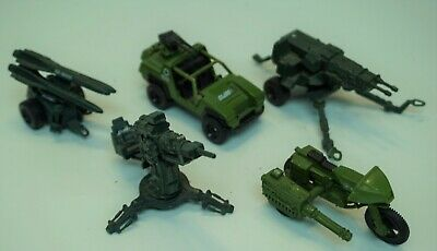 $ CDN153.10 • Buy Gi Joe Cobra Vintage 1982 Aviva Diecast Vehicle Lot Vamp Hal Mms Ram Flak Nice