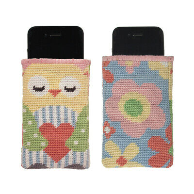 ANCHOR   Tapestry Kit IStyle: Canvas IPhone 5 Case - Owl Or Flowers   RDK24 • 25.05£
