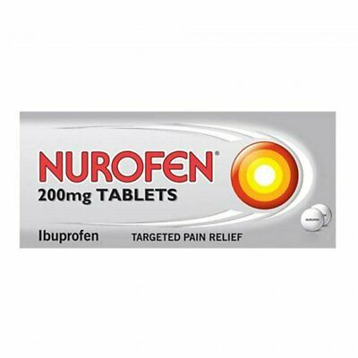 Nurofen 200mg (Pack Of 12) Pain Relief, Anti-Inflammatory FREE UK DELIVERY • 3.49£