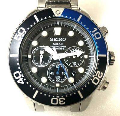 $ CDN475.15 • Buy Seiko Diver's Watch Solar Chronograph