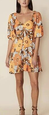 AU95 • Buy Faithdull The Brand Isola Mini Dress Exclusive Sold Out Style Eux 8 Sml