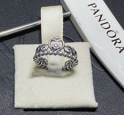 New Authentic Pandora Princess Tiara Ring 190880CZ S925 ALE Gift Box Included • 16.02£